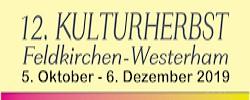 12 Kulturherbst Feldkirchen Westerham Programm 2019