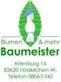 Unser Sponsor für Blumen und Gestecke BLUMEN BAUME